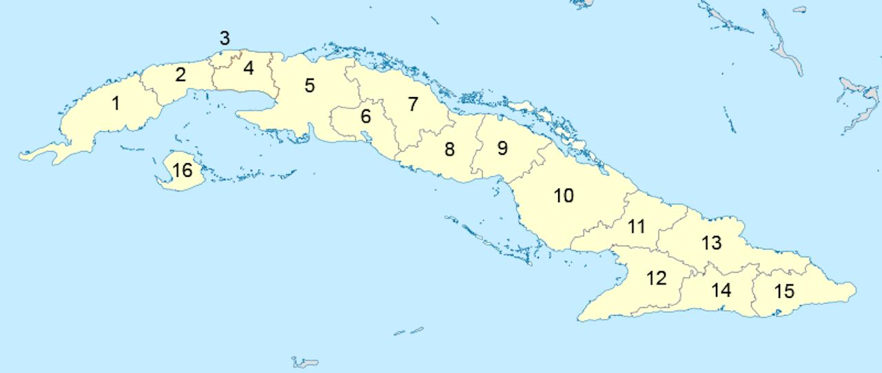 Cuba Subdivisions